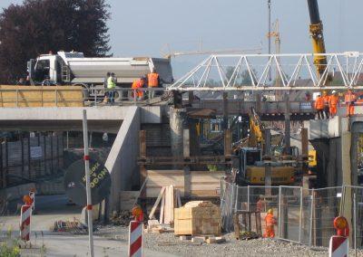 Hinterfüllung Bahnbrücke, Dusslingen