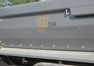 Fahrzeugbeschriftung SVA